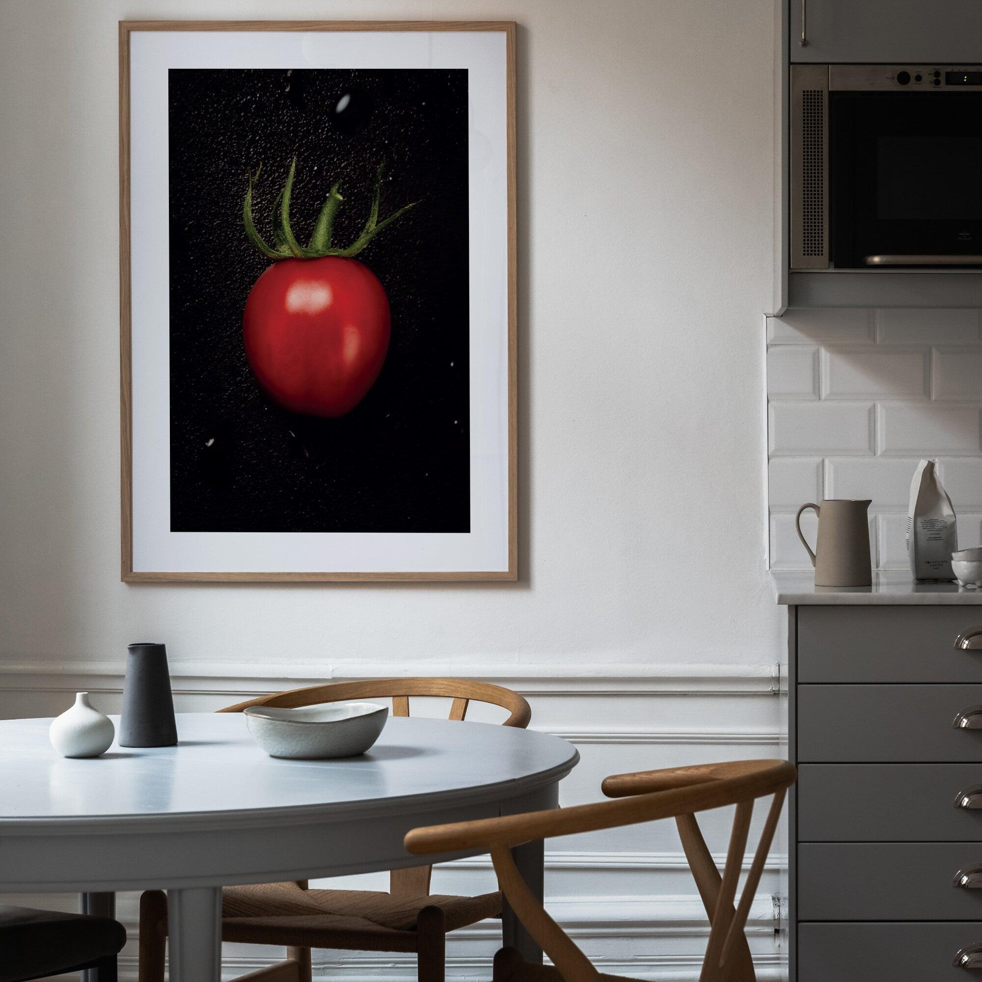 Poster med tomat
