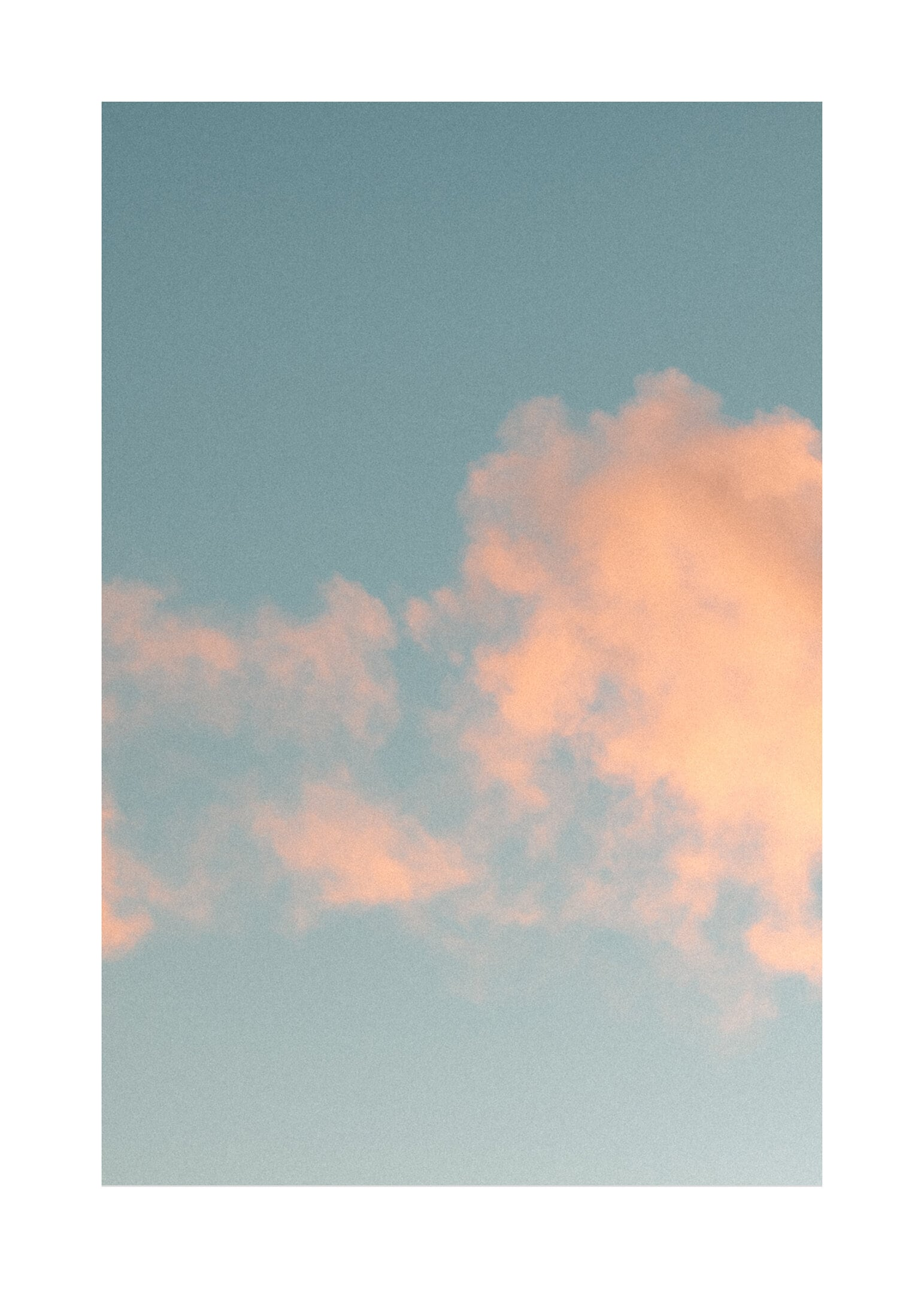 Vinterhimmel poster