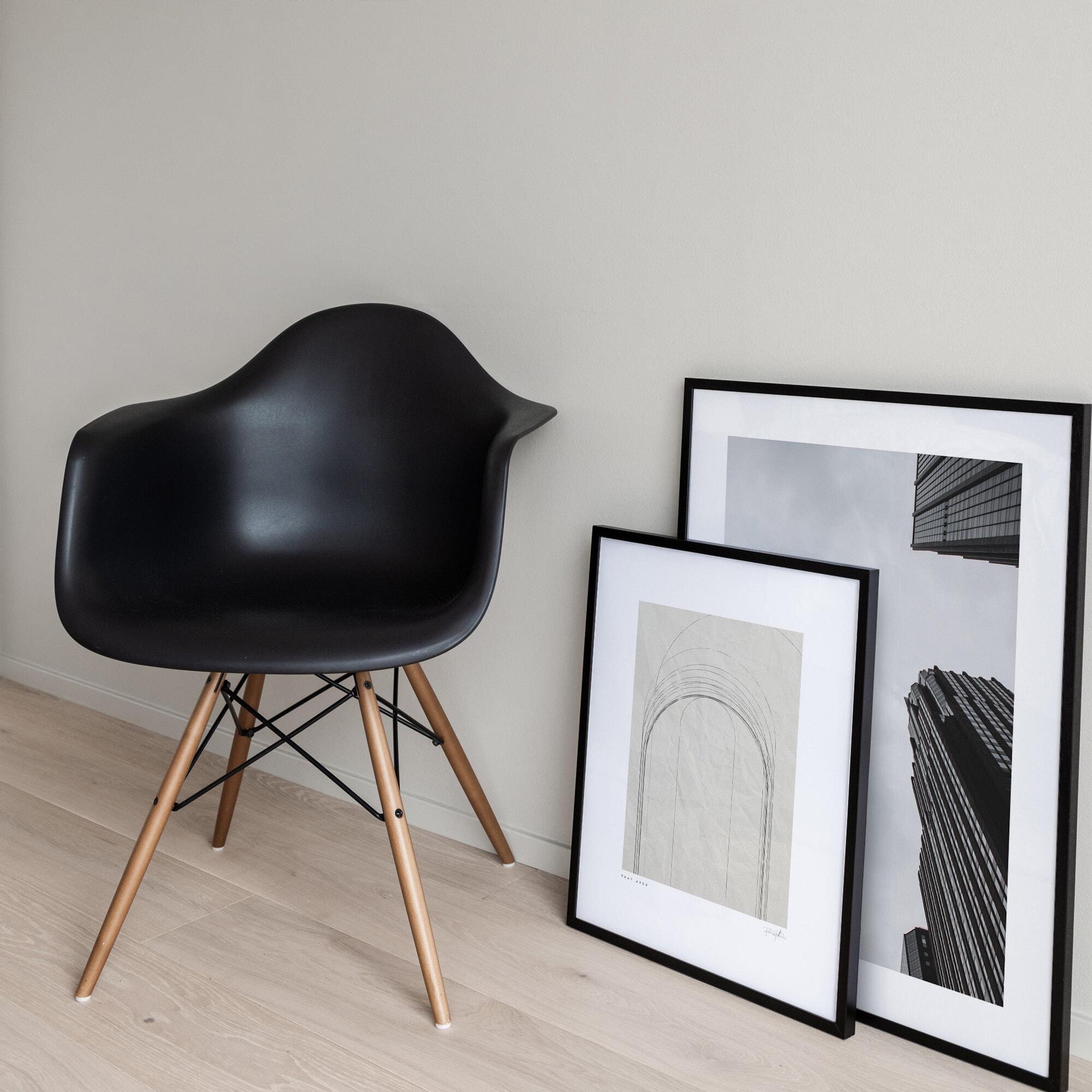 Morgondis arkitektur NY poster