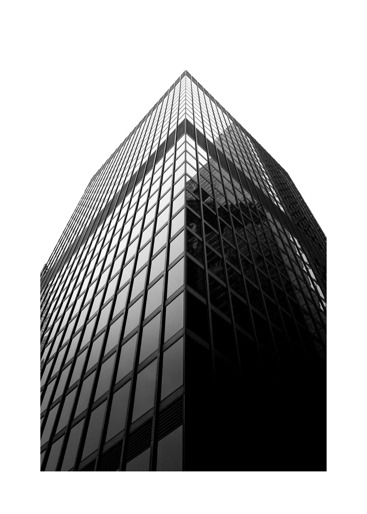 London poster i svartvitt