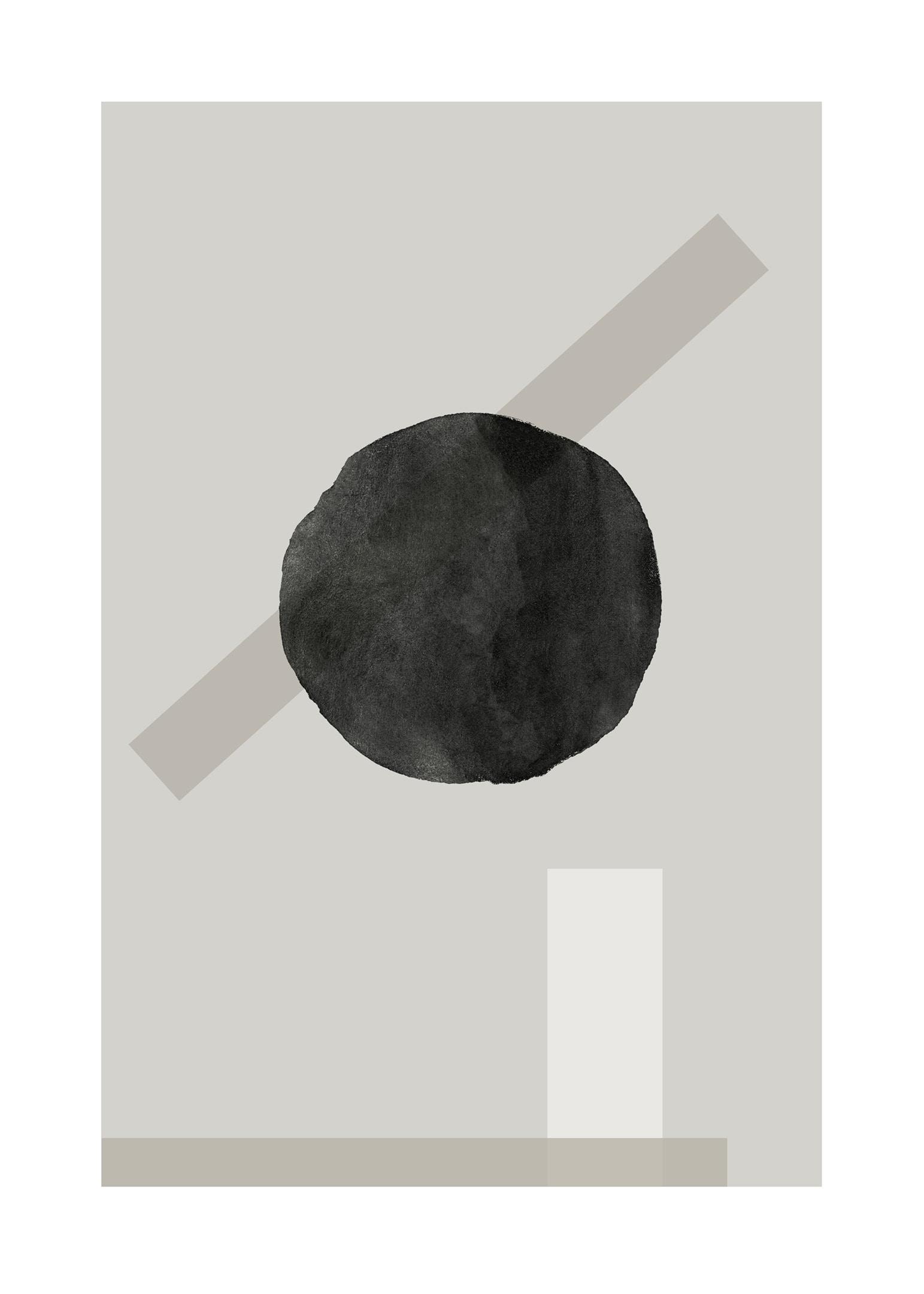 Grafisk komposition poster