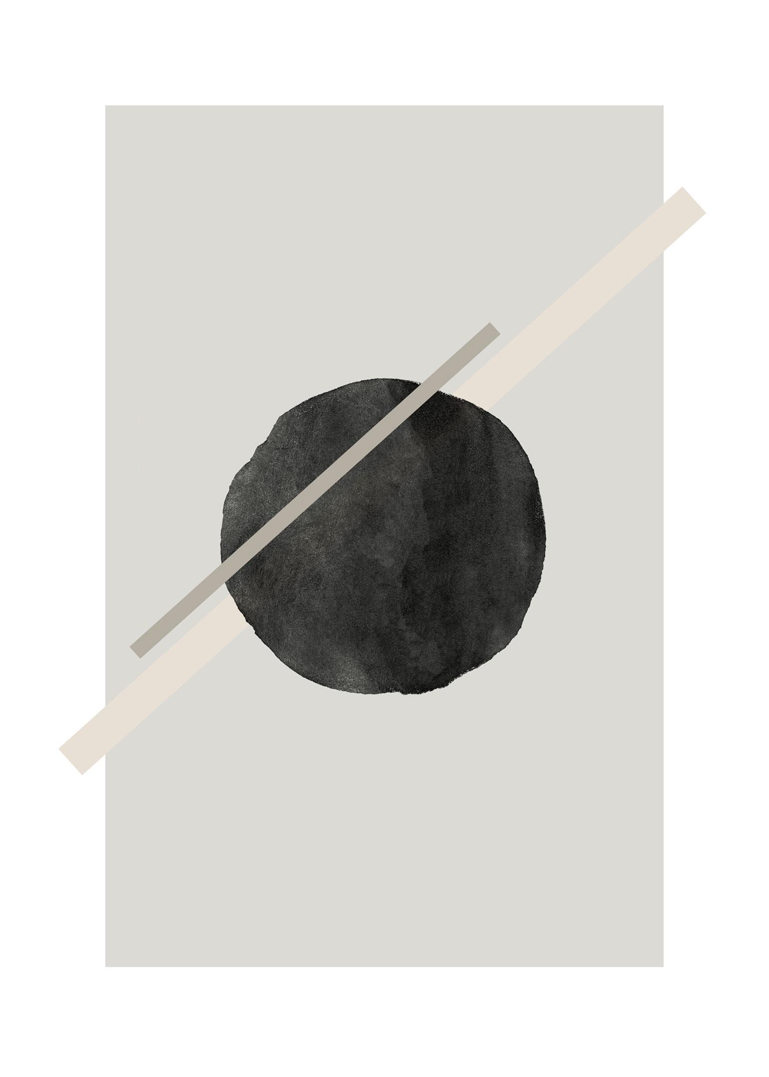 Grafisk poster cirkel