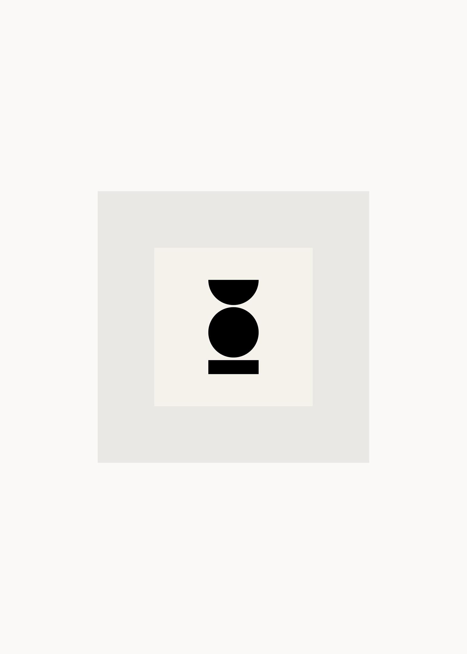 Grafisk poster kvadrat