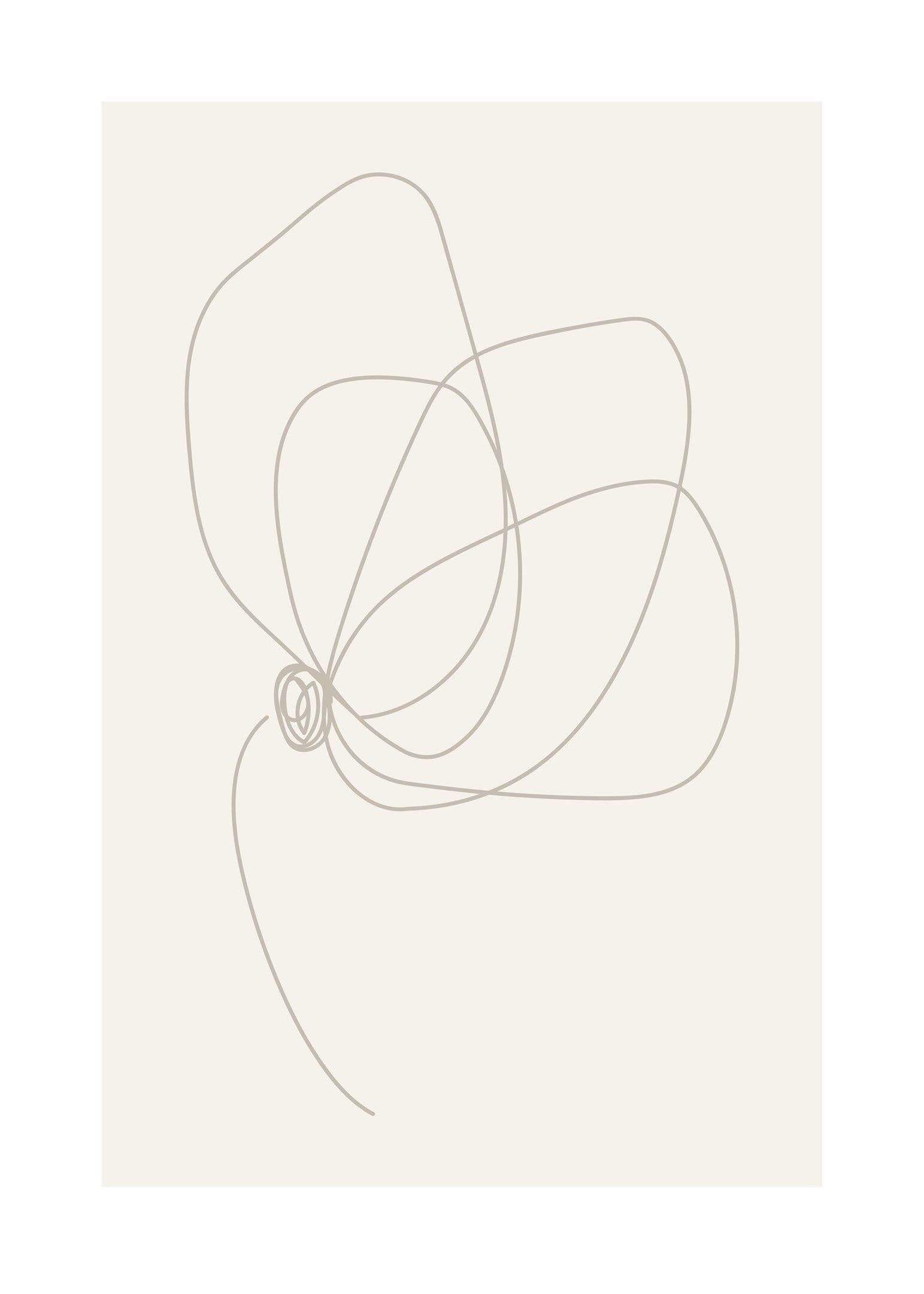 Illustration blomma