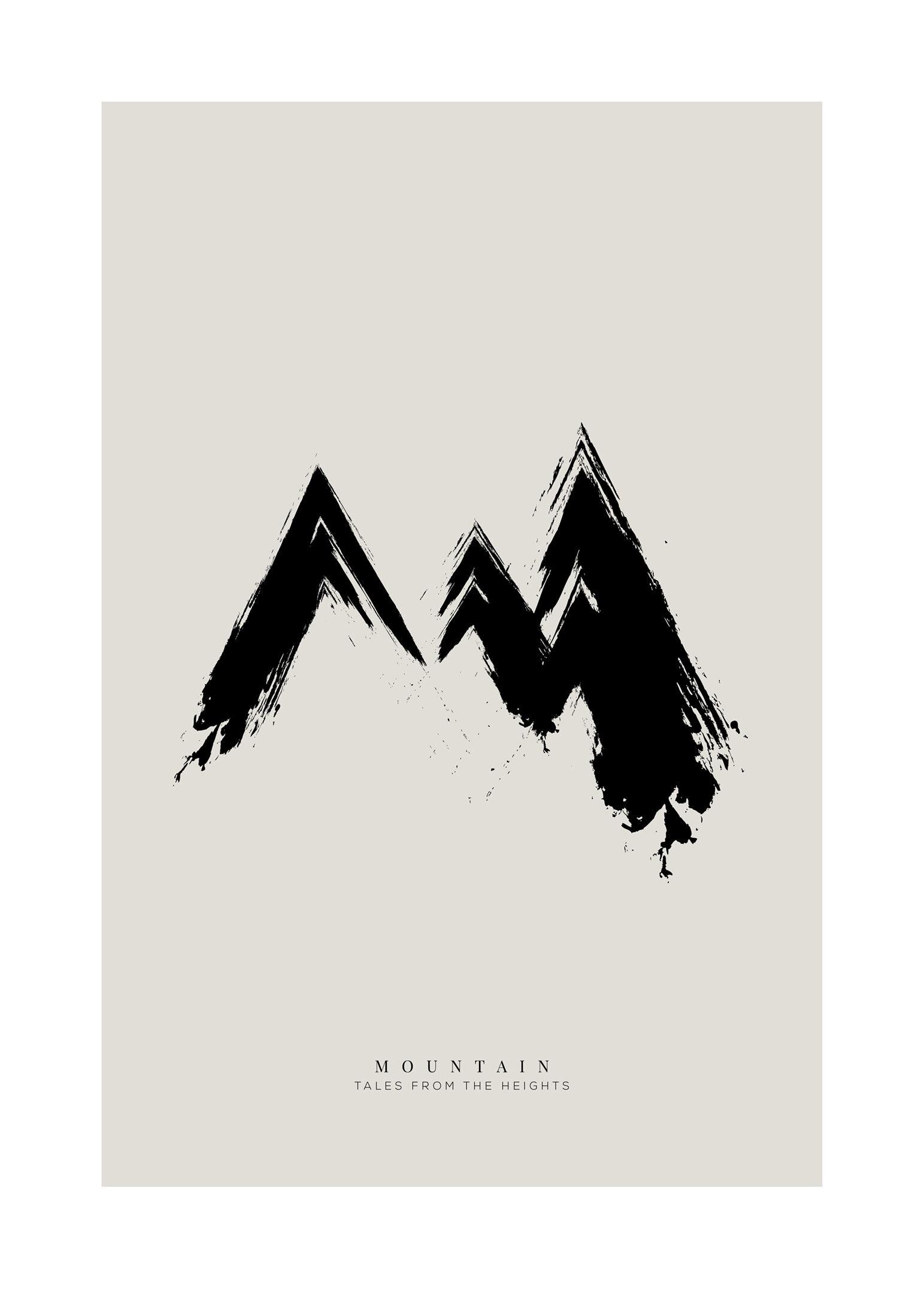 Berättelser från bergen poster
