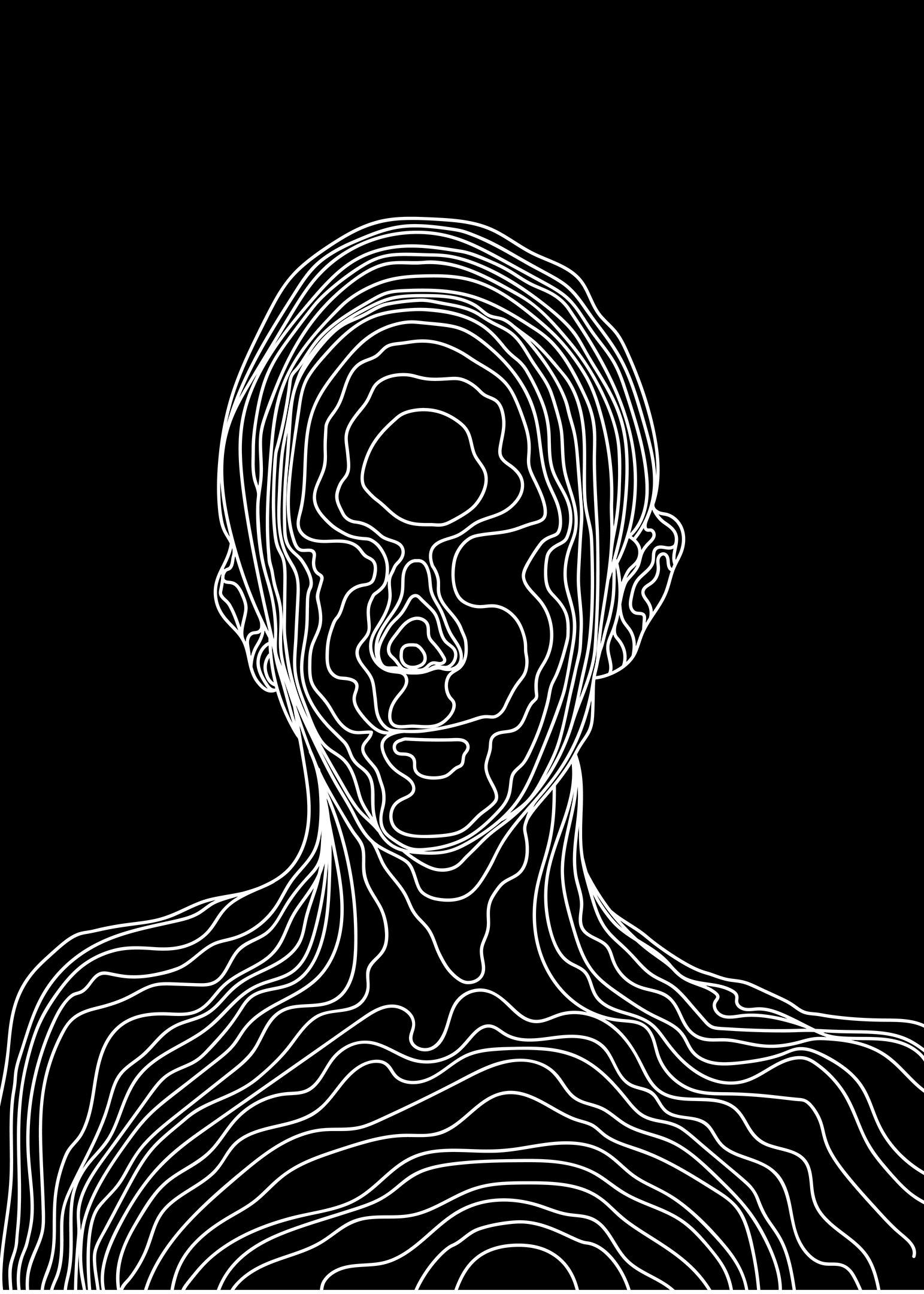 Abstrakt illustration poster