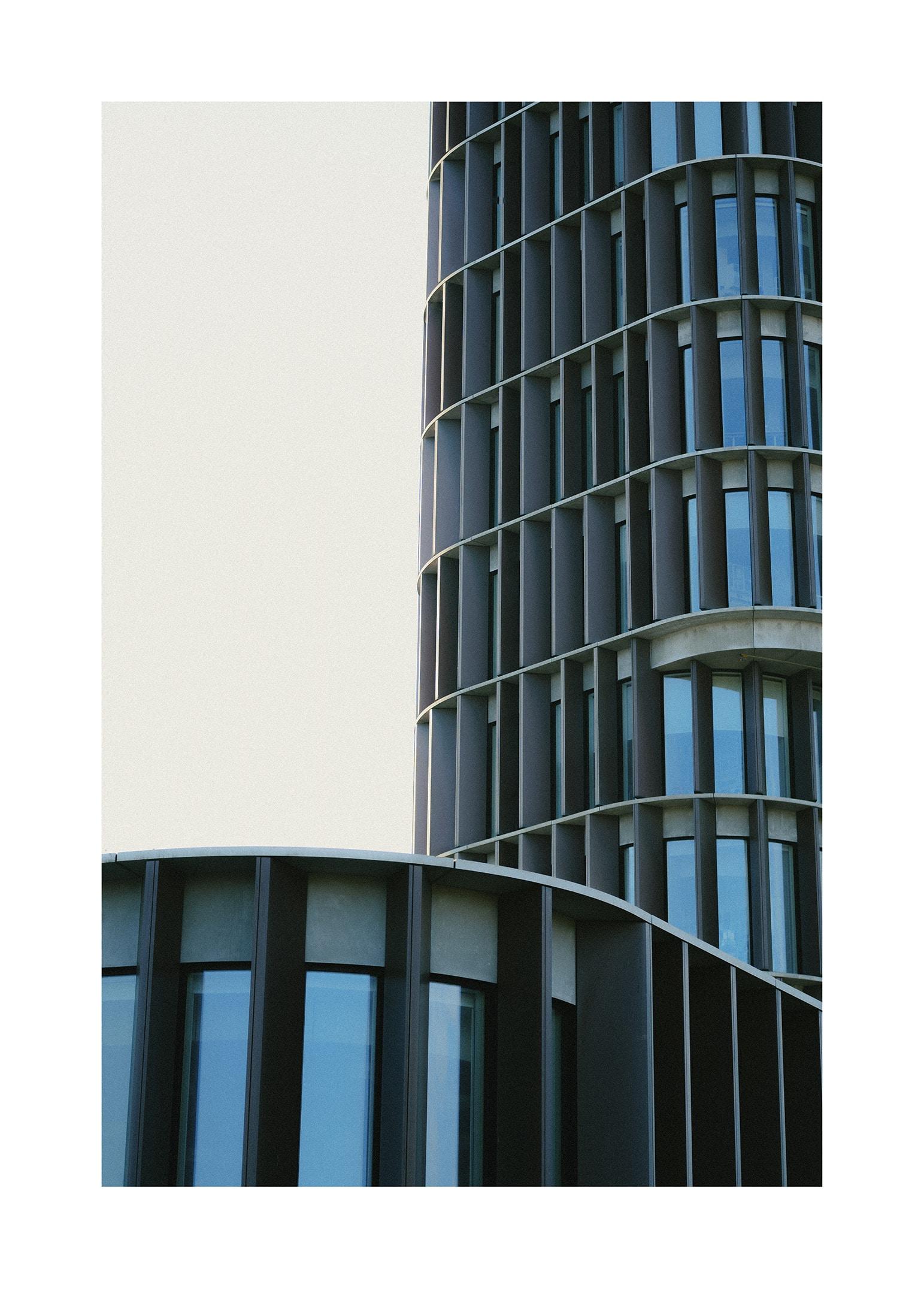 Maersk tower i Köpenhamn poster