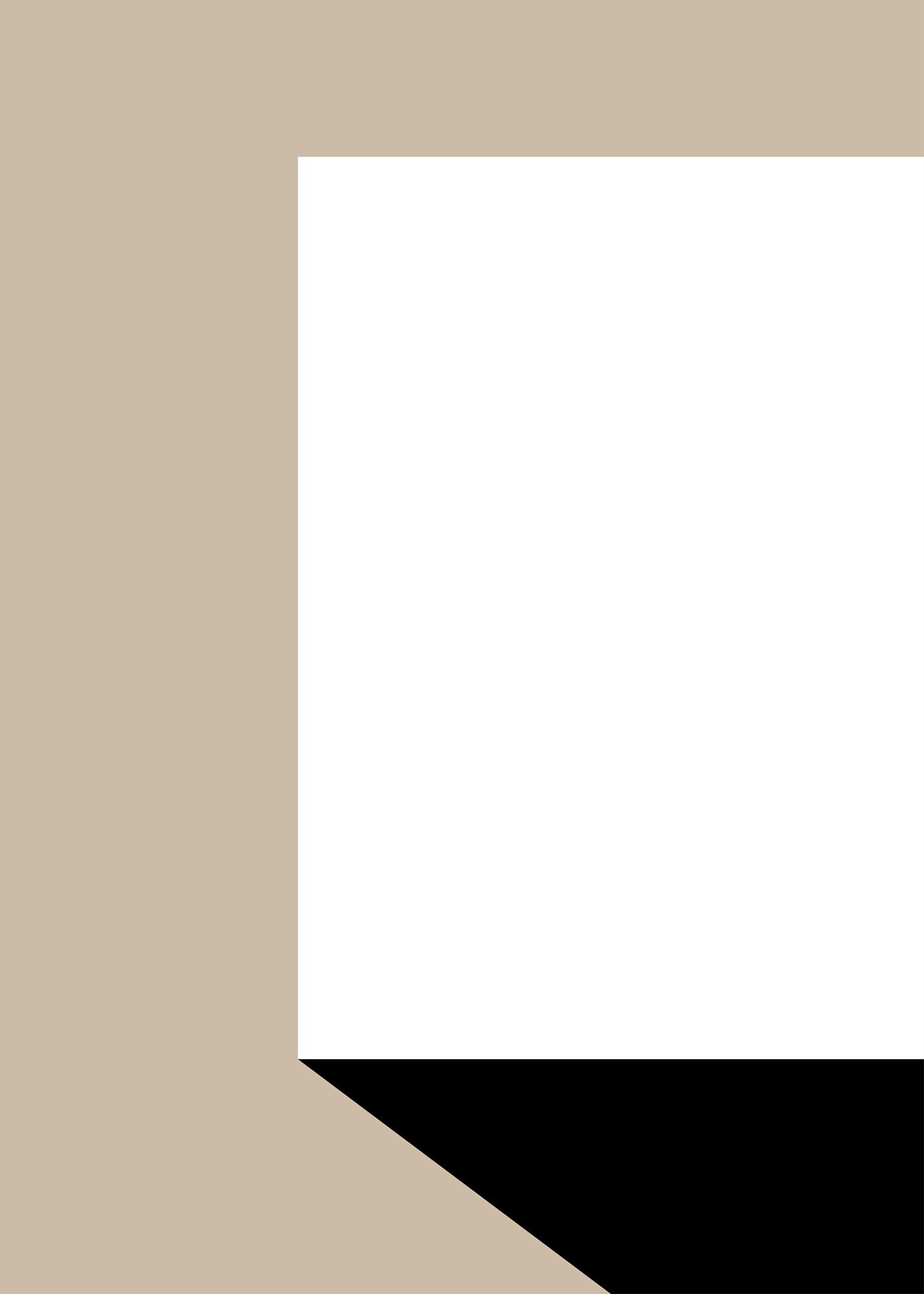 Vit box poster beige