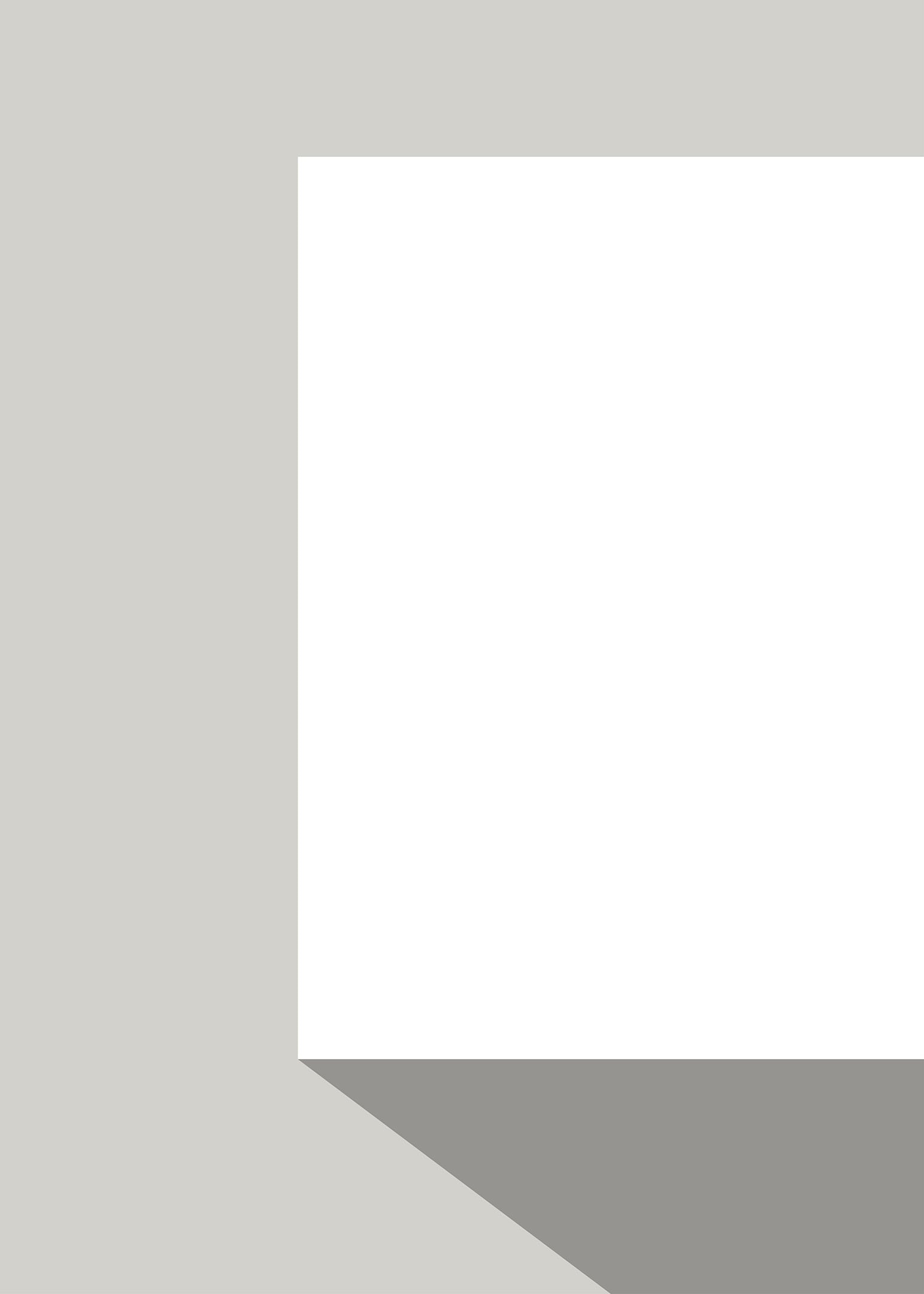 Vit box poster grå