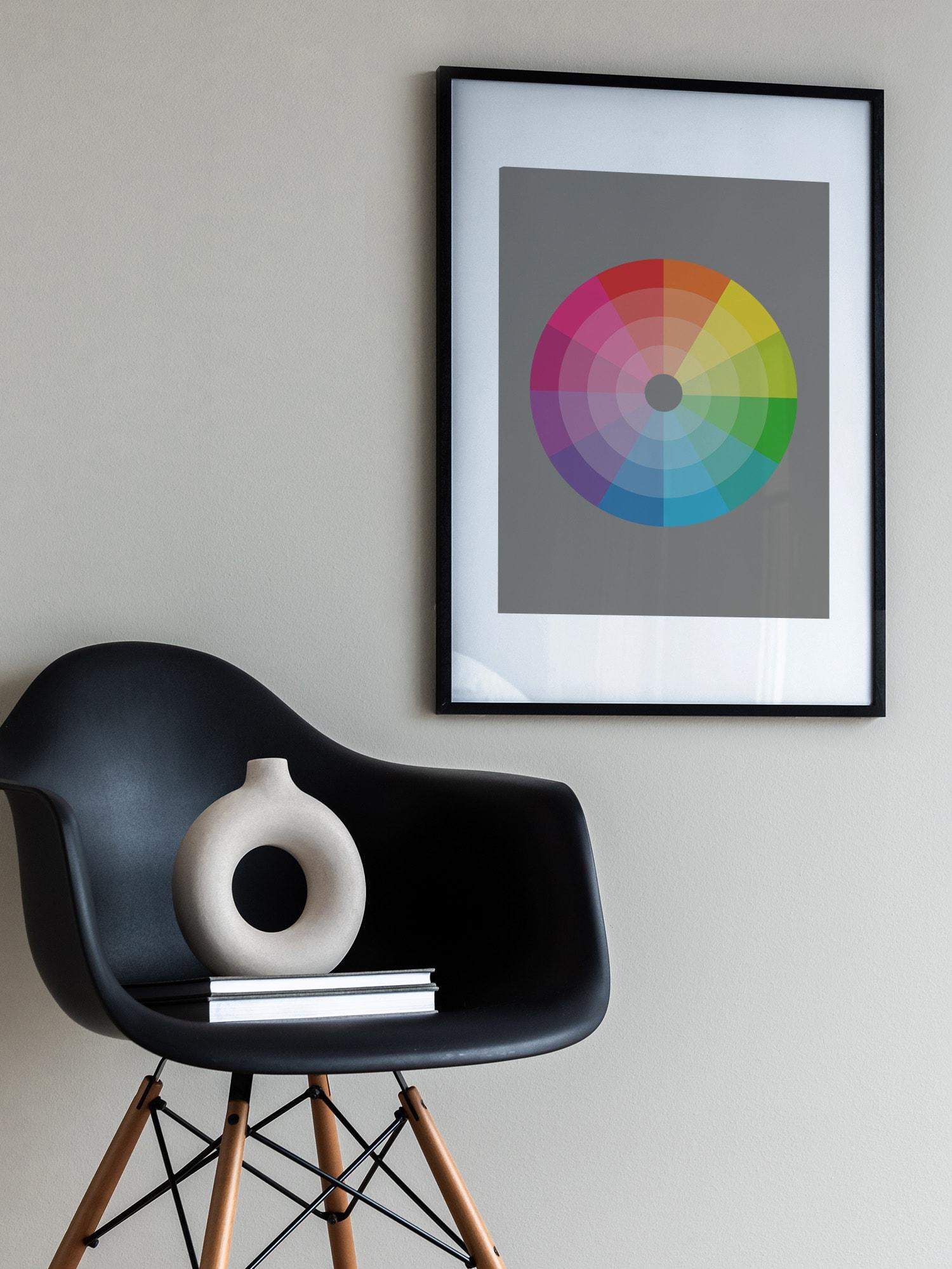 Skapa snygga färgkombinationer med hjälp av färgcirkeln